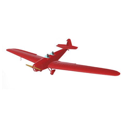 Airplane with texture 3D model