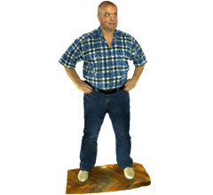 Full body scan 3D model