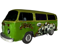 VW bus scanned with Artec Eva 3D model