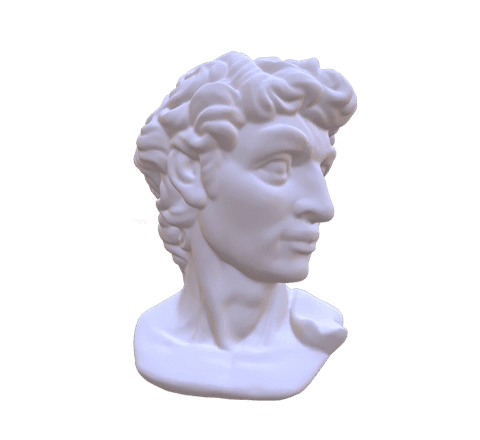 Head sculpture 3D model