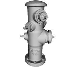 Hydrant 3D-Modell