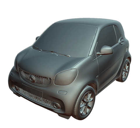 Smart (automobile) Modèle 3D