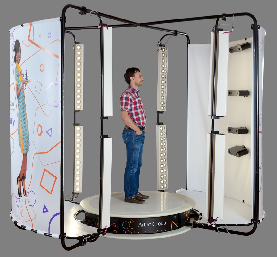 Artec Debuts World's First 3D Full Body Scanning Booth In