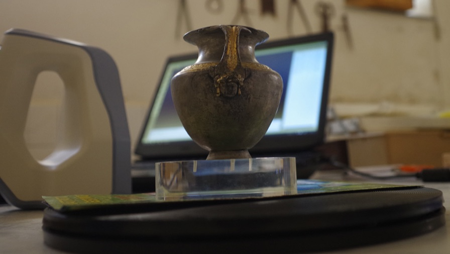 Digital Preservation Of Ancient Greek Silverware With