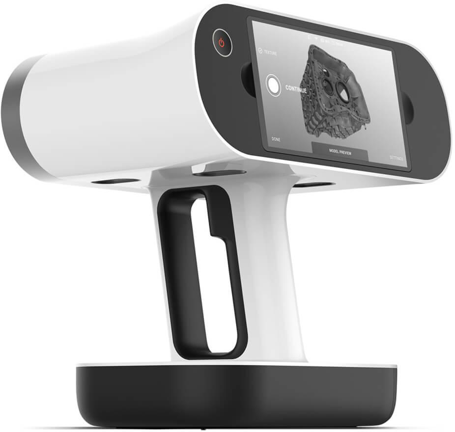 휴대용 3D 스캐너가Artec Leo